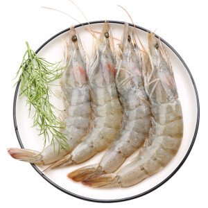 Seamix 禧美海产 国产白虾 19-23只 400g 主图