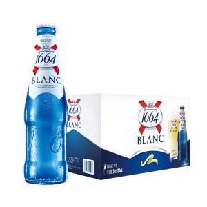 必买年货: Kronenbourg 1664凯旋啤酒 白啤酒 330ml*24瓶 主图