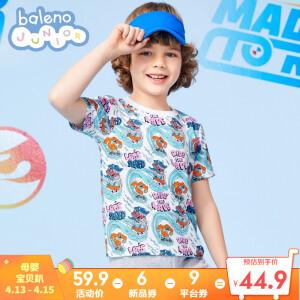 Baleno 班尼路 男童纯棉短袖T恤 主图