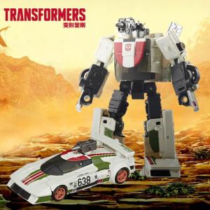 Transformers 变形金刚 孩之宝(Hasbro)变形金刚 男孩儿童玩具手办变形汽车环球影城同款 决战塞伯坦王国加强级系列千斤顶F0678 主图