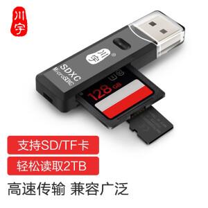 kawau 川宇 支持SD/TF 多功能二合一读卡器 主图