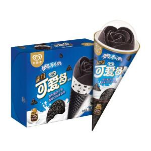 PLUS会员:Cutebaby 可爱多 花花筒冰淇淋 饼干碎香草口味 70g*4支 主图
