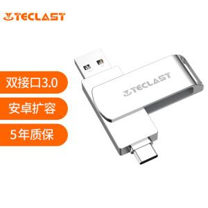 有券的上、亲子会员:Teclast 台电 睿动系列 USB 3.0 U盘 32GB USB/Type-C双口 主图