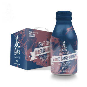Yocharm 云臣 布鲁日四季双料精酿啤酒 330ml*6罐 主图