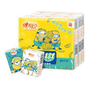 心相印 小黄人系列 手帕纸 4层6片18包 主图