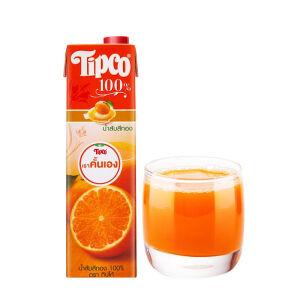 Tipco 泰宝 鲜榨橙汁 1L 主图