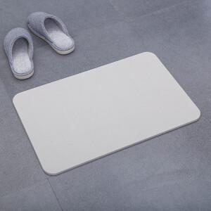 FK 访客 硅藻泥地垫 清新纯色-浅灰色 主图