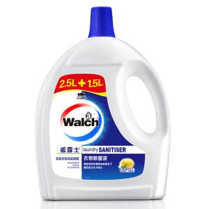 Walch 威露士 阳光清香 衣物除菌液 (2.5L+1.5L) *3件 主图