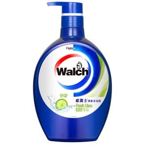 威露士(Walch)健康沐浴露 清新青柠 1000ml 男女通用 *4件35.64元(合8.91元/件)