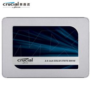 crucial 英睿达 MX500 SATA3 固态硬盘 500GB 主图