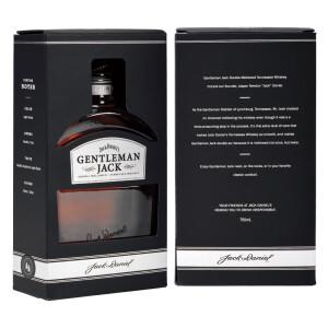 JACK DANIELS 杰克丹尼 美国田纳西绅士 威士忌 750ml *2件 主图