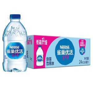 Nestlé Pure Life 雀巢优活 饮用水 330ml*24瓶 主图