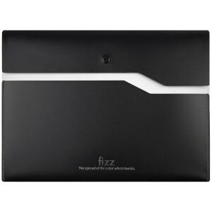 京东PLUS会员: fizz 飞兹 FZ103002 加厚双层按扣文件袋 白色 *10件 主图