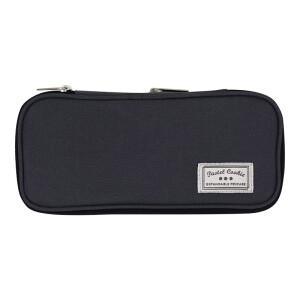 京东PLUS会员: KOKUYO 国誉 NOViTA-R WSG-PC122-DM 竖款笔袋 中号 深灰色 +凑单品 主图
