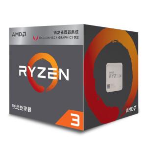 AMD 锐龙 Ryzen 3 2200G CPU处理器 主图