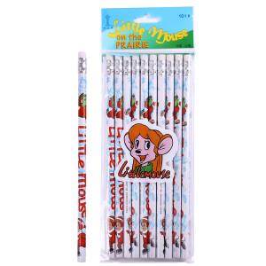 中华 6080 儿童书写HB铅笔 卡通圆杆铅笔 主图