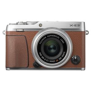 FUJIFILM 富士 X-E3 无反相机套机(XF23mm F2镜头)棕色 主图