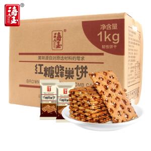 海玉 红糖蜂巢饼 1000g*2件 主图