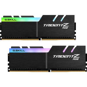 10日12点:G.SKILL 芝奇 幻光戟RGB 台式机内存条 DDR4 3200频率 16GB套条 主图