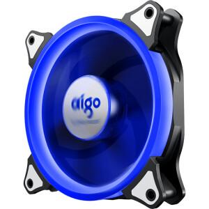 aigo 爱国者 极光 单色光 120mm 机箱散热风扇 单个装 蓝色 主图
