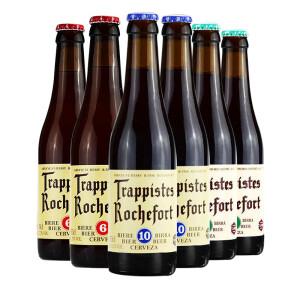 Trappistes Rochefort 罗斯福 比利时进口精酿啤酒10号*2/8号*2/6号*2 组合装330*6瓶 主图