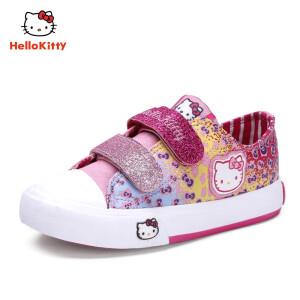 Hello Kitty 凯蒂猫 女童涂鸦休闲板鞋 59元包邮(需用券)