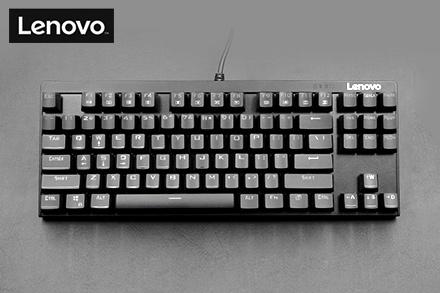 聯想(lenovo)mk10087鍵機械鍵盤黑色圖片
