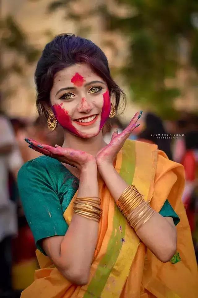 joyeeta_sanyal最近很火的印度小姐姐