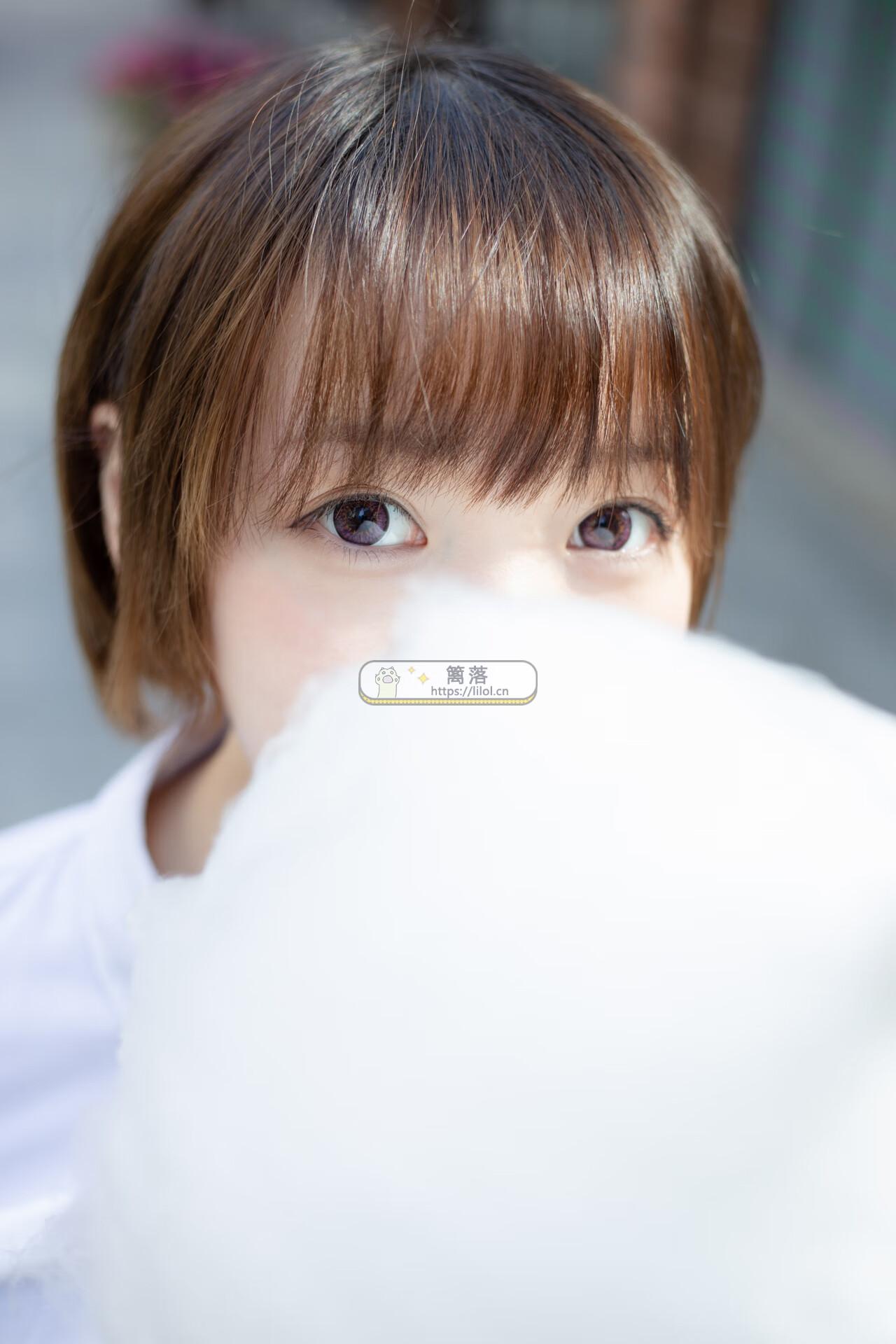 【SSR系列】森萝财团写真 SSR-011 短发俏皮学生妹天台+公园长椅写真 [104图-0视频-1.4GB] SSR系列 第2张