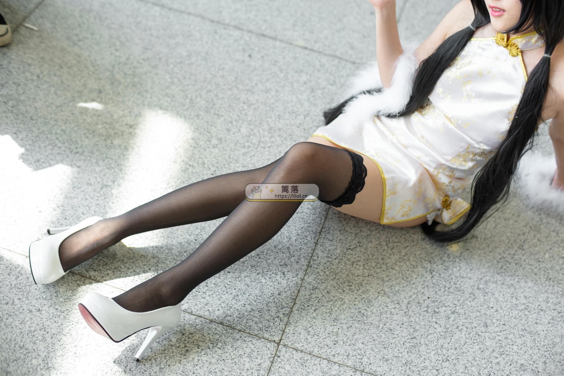 【FREE系列】森萝财团写真 FREE-005 中筒黑丝cosplay性感长腿特写 [64图-0视频-381MB] FREE系列 第6张